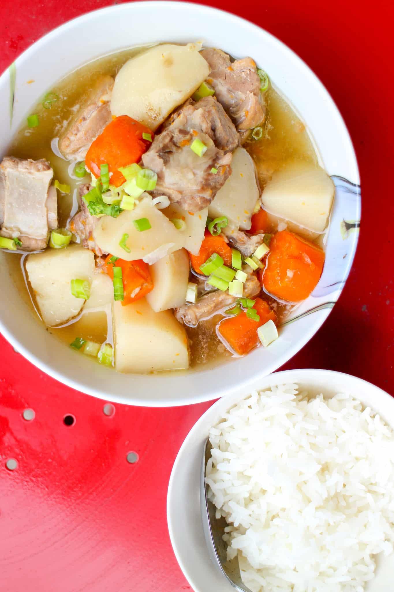 Canh Sườn Pork Spare Rib Soup