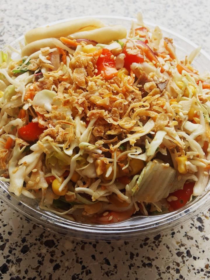 Bandoola Bowl pork salad