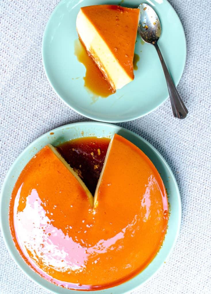 Vietnamese Flan Cake