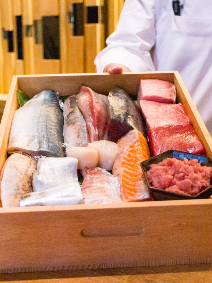 Zauo NY Omkase fish of the day