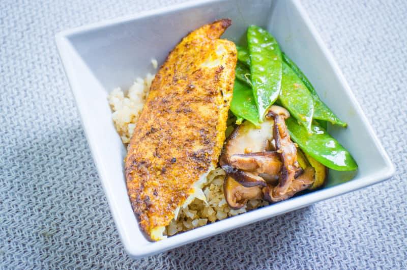 Fried Fish with Curry and Lemongrass (Cá Chiên Cà Ri Sả)