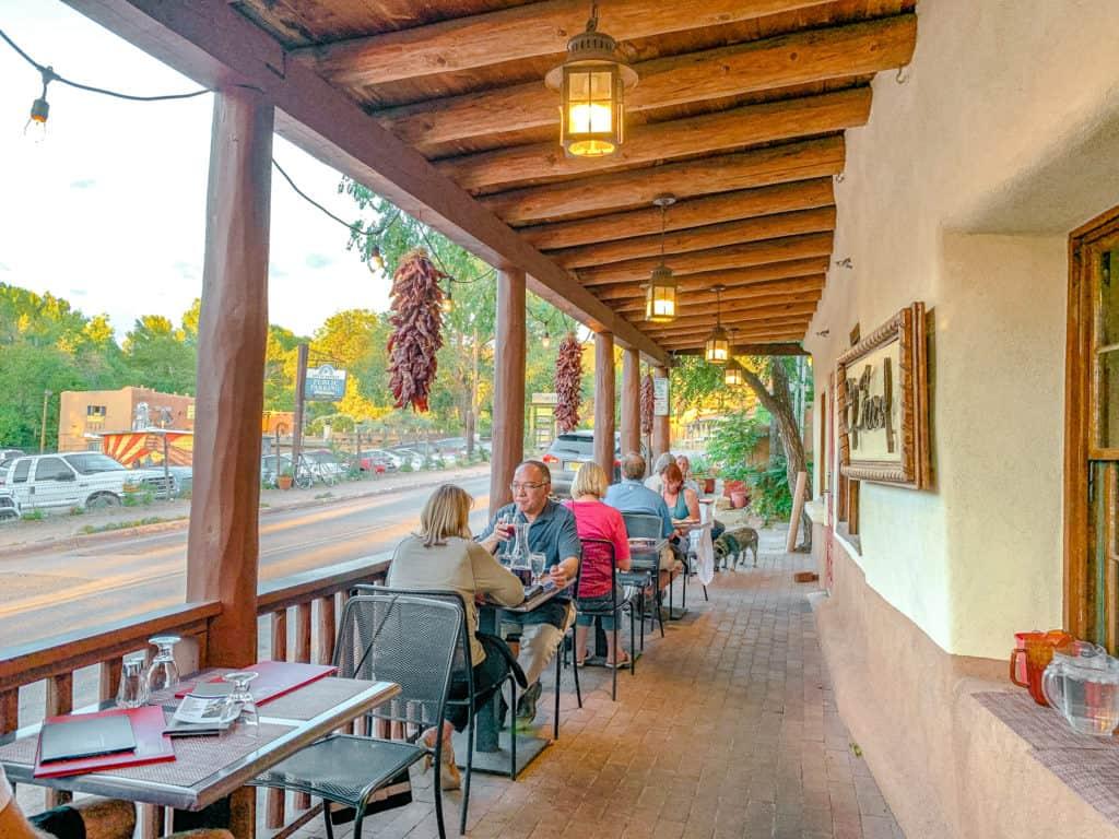El Farol outdoor dining