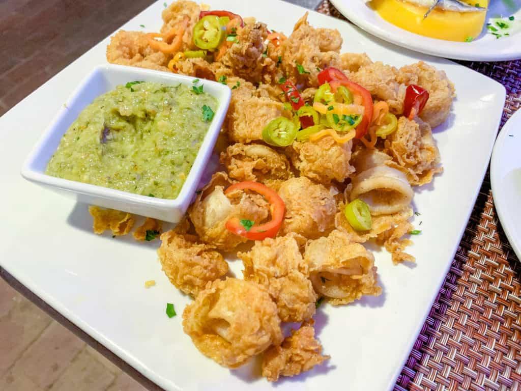 EL Farol Calamari Frito