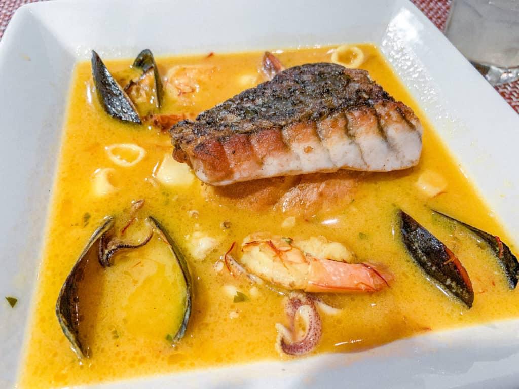 El Farol ZARZUELA de PESCADO, Catalan Seafood Stew