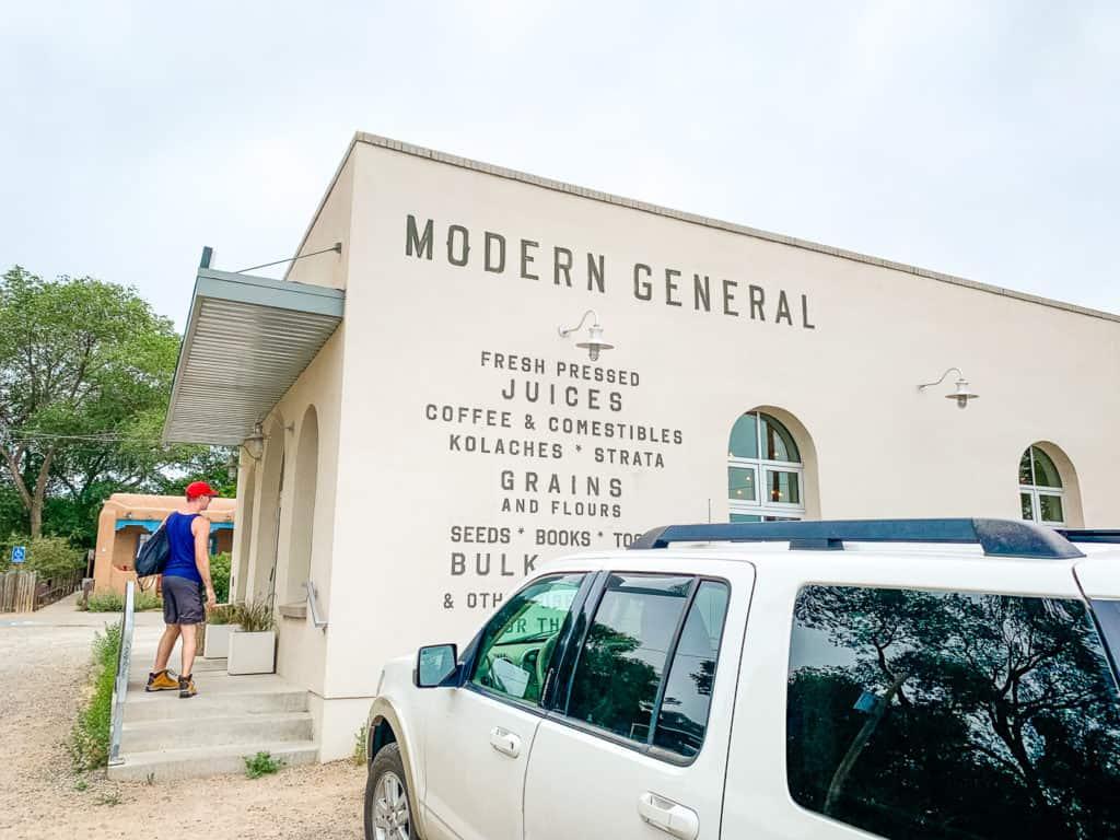 Modern General storefront in Santa Fe