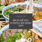 Spicy Vietnamese Beef Noodle Soup (Bún bò Huế)