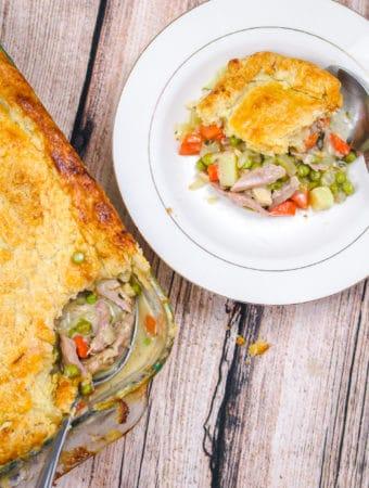 Turkey Tarragon Pot Pie