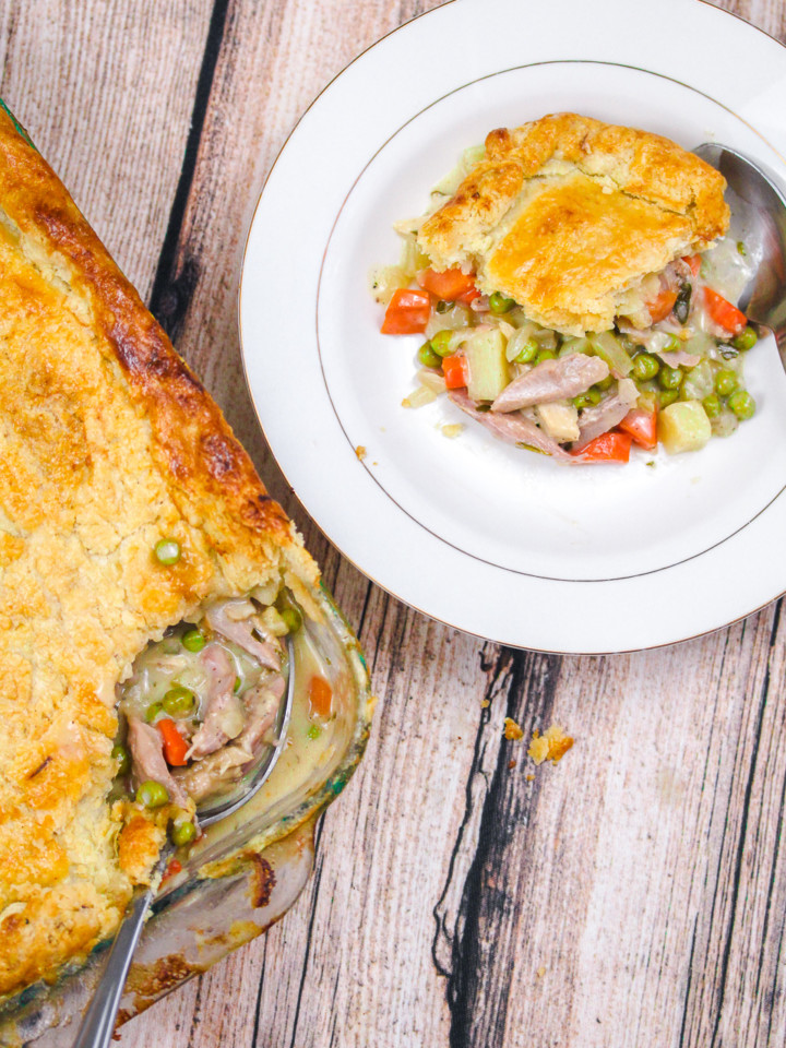 Turkey Tarragon Pot Pie